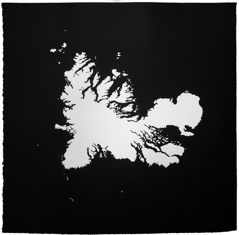 Kergeuelen Island Print