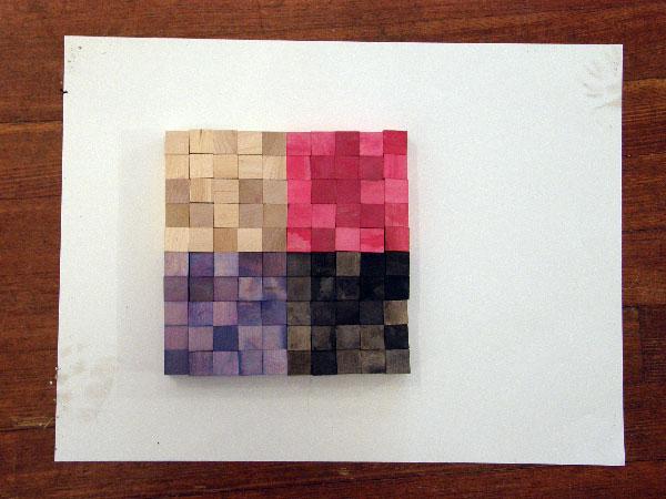 100-Colored-Pixels
